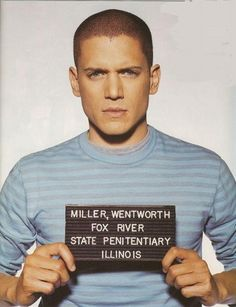 I love this show. And man is he sexy. Wentworth Miller// Prison Break