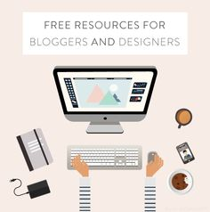 You all are going to love all of these links that I've collected this week filled with a plethora of freebies for both bloggers and designers alike. I've already downloaded most of them myself and can concur that they're awesome....