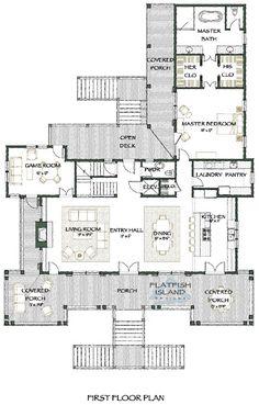 Flatfish Island Designs' Caroline Kite House Plan.