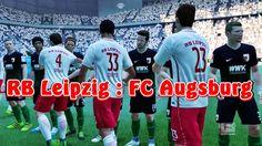 FIFA 17 Gameplay FULL MATCH RB Leipzig vs FC Augsburg Playstation 4 Spiel ⚽ EA Sports FIFA17 GAME ⚽