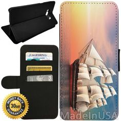 Flip Wallet Case for Galaxy S8 (Fantasy Sailboat) with Adjustable Stand and 3 Card Holders | Shock Protection | Lightweight | by Innosub. SUPERIOR PROTECTION ? An advanced Galaxy S8 smart phone Flip Wallet case, this custom Samsung phone Wallet case offers better drop, scratch, shock and bump defense against accidents. ADJUSTABLE STAND?Features adjustable viewing angles to watch videos or read e-book. CREDIT CARD HOLDER ? Comes with 3 card holders for your credit card or ID. ADVANCE...
