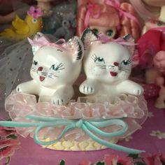 Vintage Kittens in a Basket.. Gift Box.. Sweet by KittyKatDance