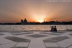 Photograph Sunset at venice by Giacomo Albertini on 500px