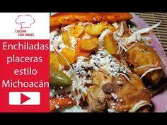 Enchiladas Placeras estilo Michoacan | Cocinando con Angel - YouTube