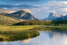 The Green River, Wyoming