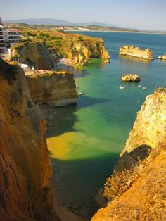praia dona ana algarve portugal