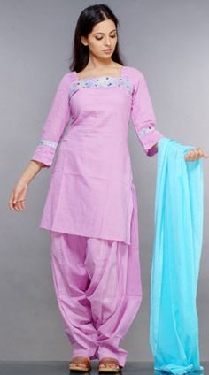 Salwar is the Pants, Kameez is the top, Dupatta is the long scarf.