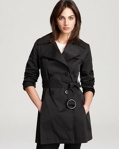 Via Spiga Scarpa Double Breasted Trench Coat on shopstyle.com