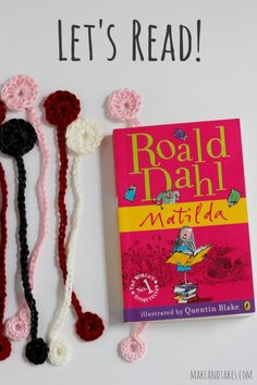 Time to Read with Your Crochet Bookmark @Make and Takes.com #crochetaday
