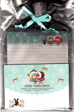 Letter Set ~ Little Twin Stars