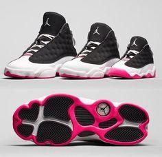 AIR JORDAN 13 RETRO GIRLS 'HYPER PINK' baby toddler preschool sizes 3C-3Y #Jordan #Athletic