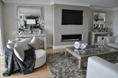 GAZCO STUDIO 3 HOLE IN THE WALL GAS FIRE - Thornwood Fireplaces