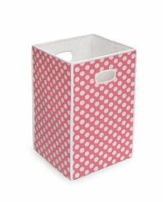 Badger Basket Folding Hamper/Storage Bin, Pink by Badger Basket. $20.00. Use as laundry hamper or for storing and organizing toys, stuffed animals, linens, and more. Assembles in seconds - just unfold and insert the bottom panel. Spot clean. Handy, lightweight, easy to carry around, won't scratch or scuff floors, and folds flat for storage. Tall, fabric covered cube is useful and stylish. Ideal for Baby's room, bedrooms, bathrooms, laundry rooms, dorm rooms, mud rooms, wherever. ...