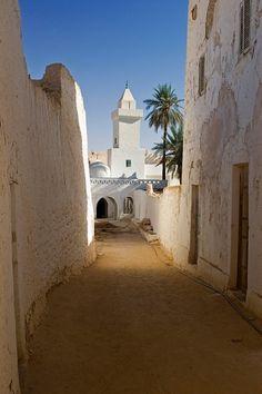 Ghadames, Libya #travel #vacation #rentals www.goldsuites.com