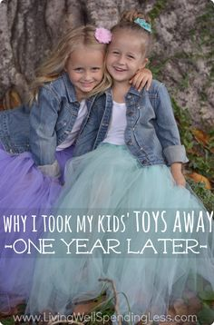 Ever wonder what happened to the kids whose mom ignited a firestorm when she took all their toys away One year later, this follow-up post addresses all the questions brought up by that very controversial post.  A must read!