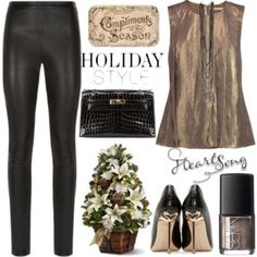 Holiday Style:Leather Pans
