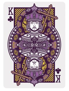 090 - Playing Card by Joshua M. Smith, via Behance