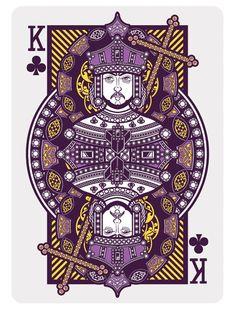 090 - Playing Card by Joshua M. Smith, via Behance
