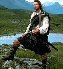 Darling, Liam is ready for the highland walk, you might want to change what you're wearing.........