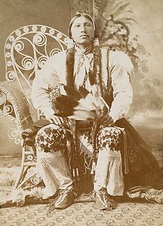 An old photograph of Little Chief - Comanche.