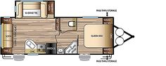 Evo Travel Trailers by Forest River RV - T2460