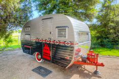 Vintage Campers Trailers, Trailers For Sale, Camper Trailers, Vintage Campers For Sale, Pendleton Pillow, Tin Can Tourist, Canned Ham, Wood Countertops, Remodeled Campers