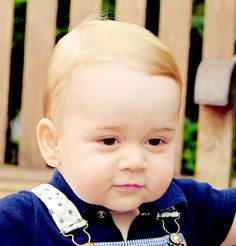 """Prince George of Cambridge I'm calling him: """"Prince George the Benevolent"""" The title just fits."""