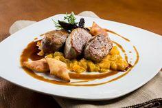 Schweinefilet auf Kürbisragout Meat, Food, Brewery, Beer, Essen, Meals, Yemek, Eten