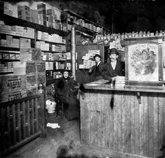 BC Drugs, 1894, with cases of Wampole's Cod Liver Oil.  Source: Photo by Philip T Timms, City of Vancouver Archives #677-271 (cropped)  Source: searcharchives.vancouver.ca