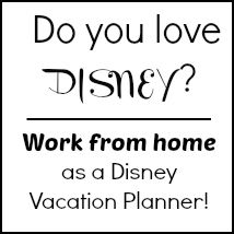 Work from home as a Disney travel agent