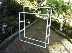 pvc pipe clothes hanger | PVC Pipe Clothes Rack - Blog - x2Jiggy