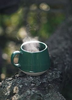 Hot drink on a chilly day
