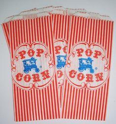 50 Vintage Style Popcorn by DimeStoreBuddy on Etsy, $7.00