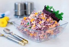 🔹Light salad for dinner Coleslaw 🔹 / Amazing Cooking Slaw Recipes, Top Recipes, Top Salad Recipe, Enjoy Your Meal, Good Food, Yummy Food, Cookery Books, Cole Slaw, Dinner Salads