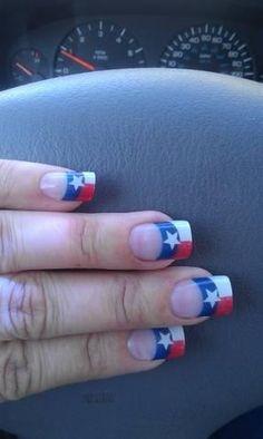Texas nails I might design!!