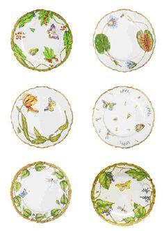 Anna Weatherley Handpainted Dinnerware