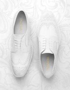 Exclusive Designer white Brogue