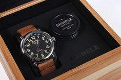 Shinola Runwell Watch - made in Detroit !