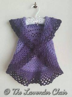 Crochet Circular Toddler Vest Free Pattern