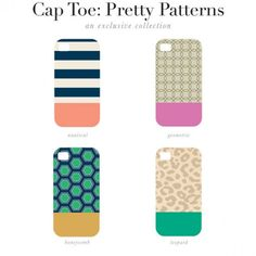 Color Block Case - Choose Your Pattern! #phonecases #style 9thelm.com