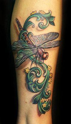 Paradise Tattoo Gathering  Tattoos Teresa Sharpe Dragonfly