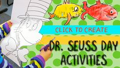 Celebrate Dr. Seuss Day in Deep Space Sparkle style with this easy-to-draw Cat in the Hat. Start with a pencil, eraser, black marker...