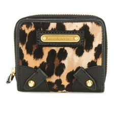 Juicy Couture Leopard Velour Wallet I have this wallet! :)