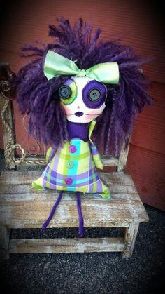 Salvaged souls dolls on Facebook