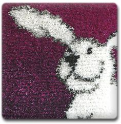 Coton De Tulear, Needlepoint Canvases, Carpet Design, Punch Needle, Rug Hooking, Rugs On Carpet, Wool Rug, Shag Rug, Weaving