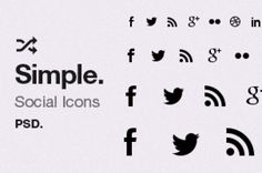 This very useful set is comprised of 22 social icons in vector mask layers on one practical psd. The vector icons...