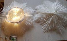 VillaTuta: Lumihiutale valoilla Christmas Star, Paper Cutting, Ideas Para, Joy, Ceiling Lights, Creative, Nice Ideas, Home Decor, Ideas