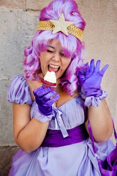 Lumpy Space Princess from Adventure Time by Wilbur Cosplay http://www.facebook.com/WilburCosplay