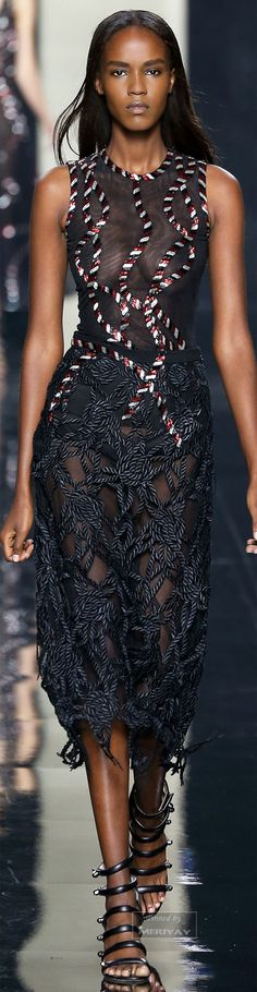 Christopher Kane.Spring-summer 2015. Beautifuls.com Members VIP Fashion Club…