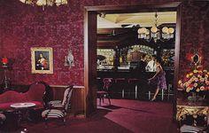 Vintage Postcard - Ernie's Restaurant - San Francisco  by Mark 2400, via Flickr